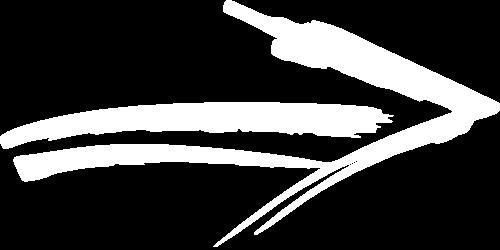 Hand Drawn Arrow White - Mila Realty - Kissimmee, Orlando FL Property Management